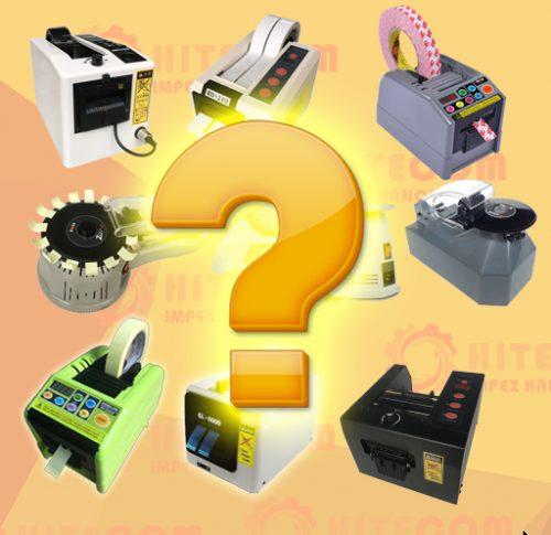 Các lchọn mua máy cắt băng dính tự động