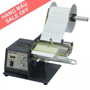 (Máy mẫu) Máy tách tem nhãn tự động khổ rộng FTR-118C FUMA